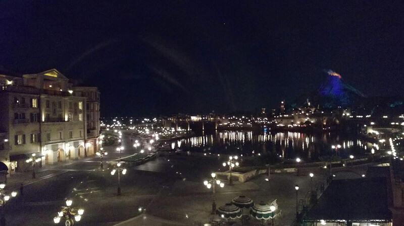 ミラコスタからの夜景