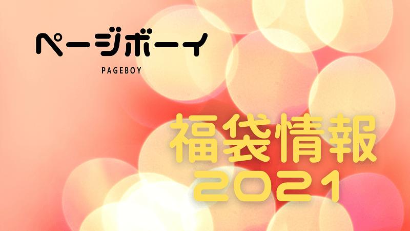 ページボーイ福袋2021