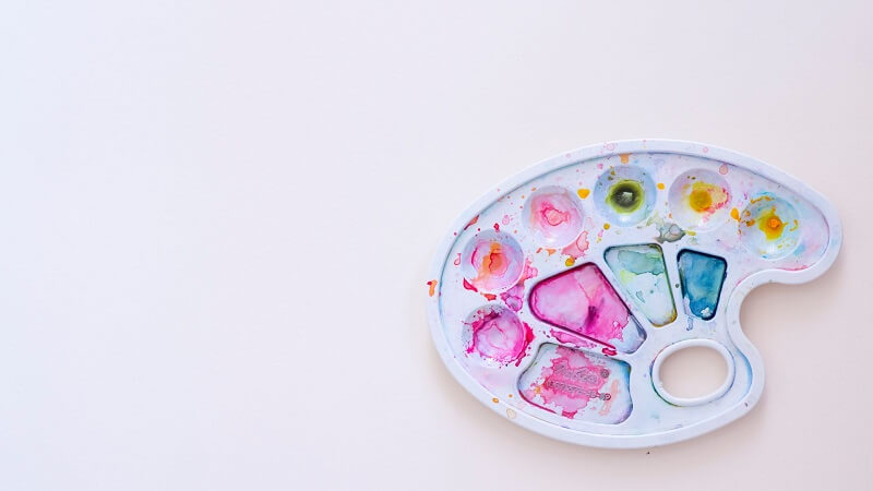 絵の具 パレット 洗い 方